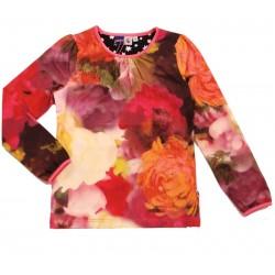 Camiseta Roxy Autumn /camiseta flores otoñales