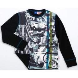 Camiseta Rigby Black/Camiseta coche carreras
