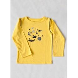 Camiseta Amarilla Fish & Stars