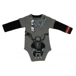 Body MANGA LARGA MOTORISTA- Biker