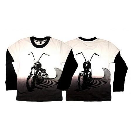 Camiseta Rock Rayas