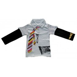 CAMISETA POLO Young Geo