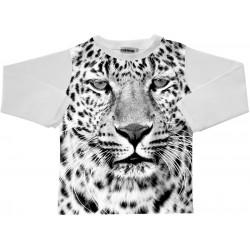 Camiseta m/l Leopardo