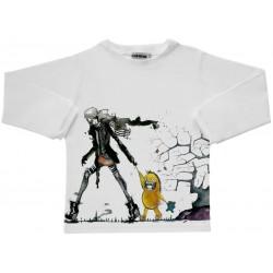 Camiseta m/l Monstruo en la calle