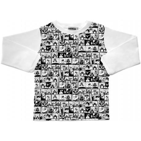 Camiseta m/l Comics Pingu