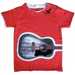 Camiseta Manga Corta Acoustic Guitar