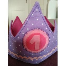 Corona Cumpleaños Lila