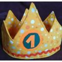 Corona Cumpleaños amarilla