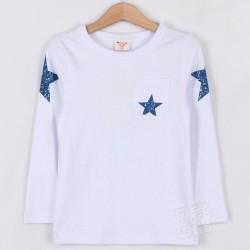 Camiseta estrella azul