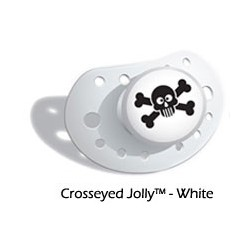 Chupete Crosseyed Jolly White