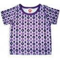Camiseta Katvig con mini manzanas lila