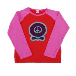 Camiseta  Peace Apple