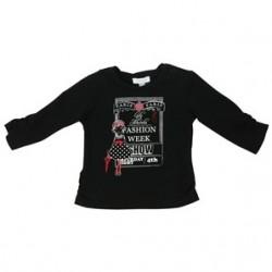 TSHIRT DECOR TEE NEGRA camiseta fashion week