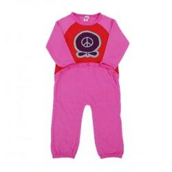 Bodysuit m/l  Peace Apple pink