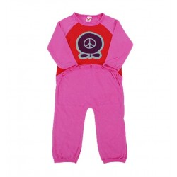 Bodysuit m/l  Peace Apple pink
