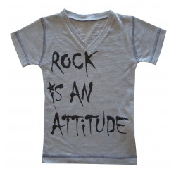 CAMISETA Rock is an attitude