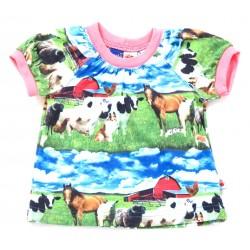 Camiseta Rut animal //Camiseta animales de la granja