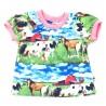 Camiseta Rut animal /                camiseta animales de la granja