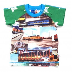 Camiseta Egon Trains/ camiseta trenes