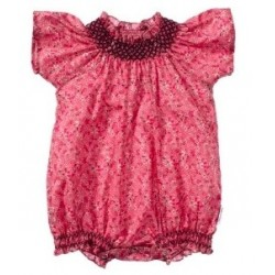 Pelele Betty/                                                                          BETTY ROMPER CHARTEAU ROSE