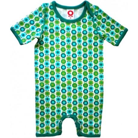 Body suit Katvig Estampado  verde mini manzanas