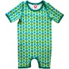 Body suit Katvig Estampado  verde mini manzanas