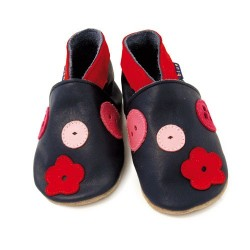 Buttons baby shoes
