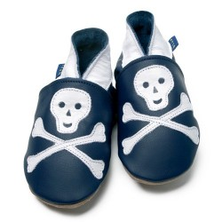 Pirate baby shoes